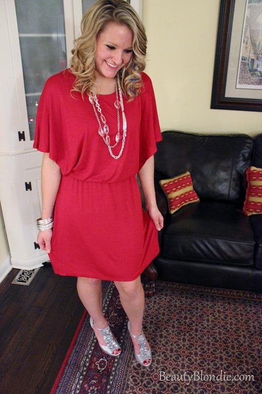 High Heels Red Dress Elisabeth