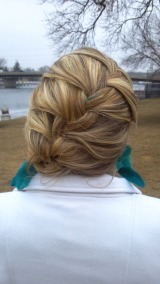 A Simple Braided Updo!