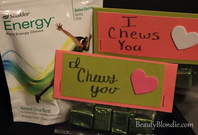 Shaklee Energy Chew Valentines