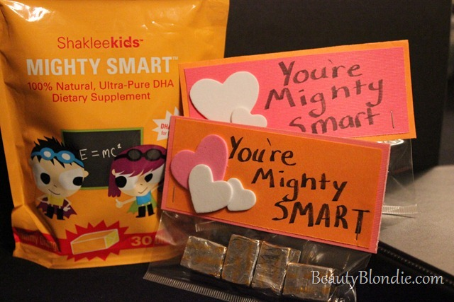Shaklee Kids Mighty Smart Valentines.