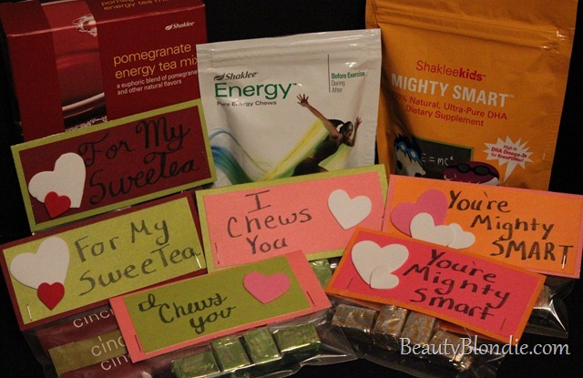 Shaklee Mighty Smarts Energy Chews and Energy Tea