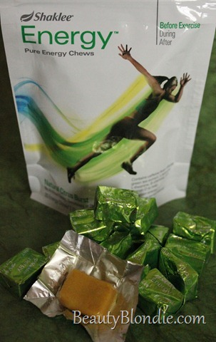 Amazing Shaklee Cinch Energy Chews