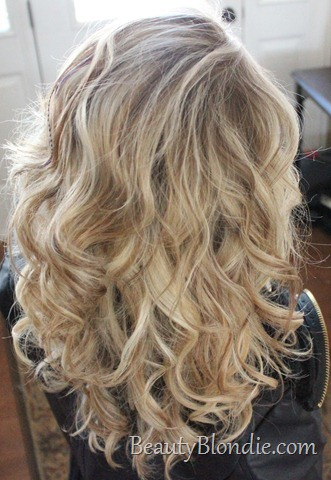 Big Loose Hollywood Curls